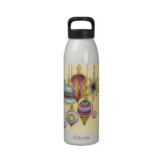 Colgante elegante y de lujo de los ornamentos del botella de agua reutilizable