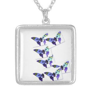 Colgante multicolor de la imagen de la mariposa