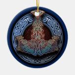 Colgante/ornamento del martillo del Thor Ornamento Para Reyes Magos