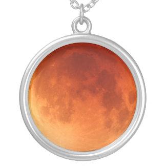 Colgante rojo 2011 del collar de la luna del eclip