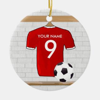 Colgante (rojo) adaptable del ornamento de la cami ornaments para arbol de navidad