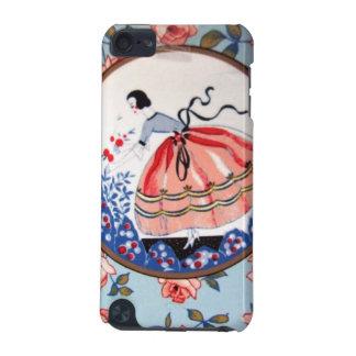 colhendo Flores de imagem de menina Funda Para iPod Touch 5G