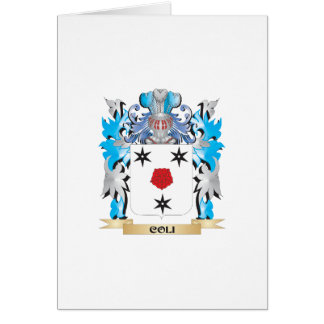 Coli Coat of Arms - Family Crest Greeting Card