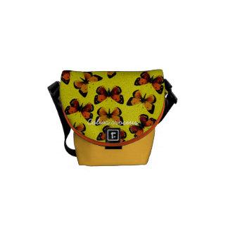 Colias croceus courier bag