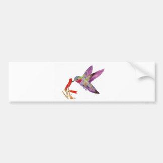 colibrí 1 pegatina para auto