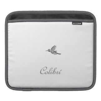 Colibrí - Beautiful Romantic Dreamy iPad Sleeve