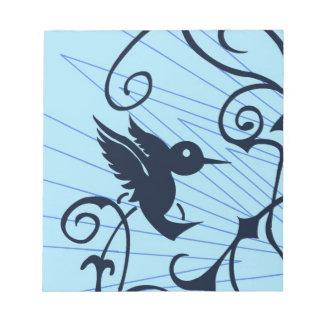 colibrí blocs de notas