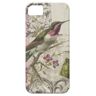 colibrí del funda-Vintage del iPhone 5 iPhone 5 Funda