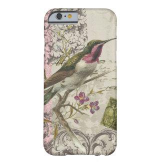 colibrí del funda-Vintage del iPhone 6 Funda De iPhone 6 Barely There