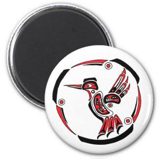 Colibrí del Haida Imán De Nevera