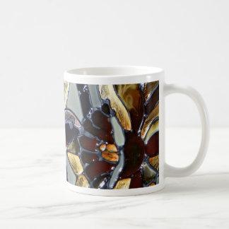 Colibrí del vidrio de la mancha taza de café