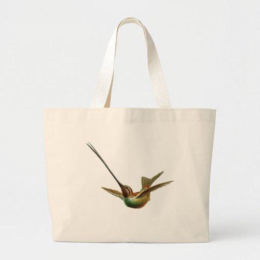 colibrí Espada-cargado en cuenta Bolsas