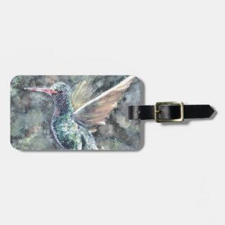 colibrí etiquetas bolsas
