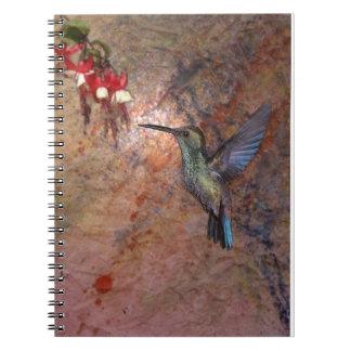 Colibri. Humingbird. Notebook