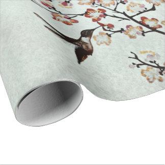 colibrí (i) papel de regalo