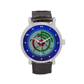 Colibrí moldeado relojes de pulsera