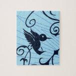 colibrí rompecabezas con fotos
