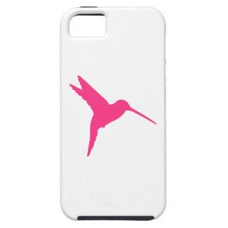 Colibrí rosado iPhone 5 carcasa