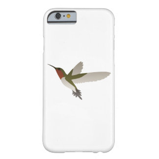 Colibrí Throated de rubíes Funda Barely There iPhone 6