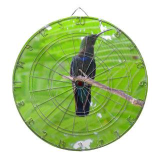 Colibrí Throated verde del Carib Tablero De Dardos