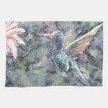 colibrí toalla