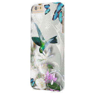 Colibrí verde funda para iPhone 6 plus barely there