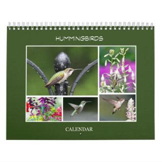 Colibríes Calendario