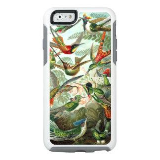Colibríes de Ernst Haeckel, árboles de los pájaros Funda Otterbox Para iPhone 6/6s