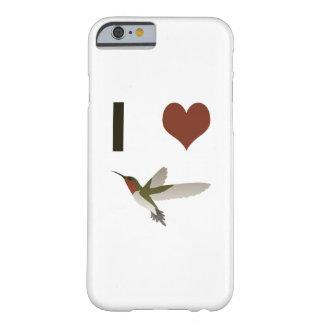 Colibríes del corazón I Funda De iPhone 6 Barely There