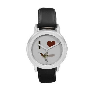 Colibríes del corazón I Relojes