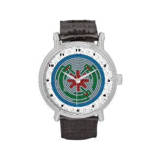 Colibríes moldeados relojes