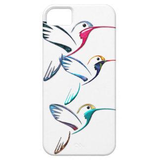 Colibríes tropicales metálicos iPhone 5 fundas