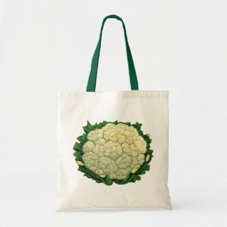 Coliflor de los Veggies de las verduras de la comi Bolsa De Mano