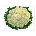 Coliflor de los Veggies de las verduras de la comi Postales