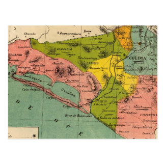 Colima, Mexico 2 Postcard