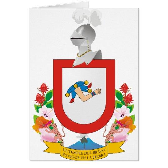 Colima, Mexico Card