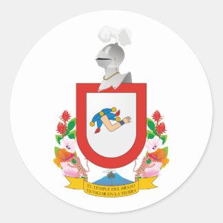 Colima, Mexico Classic Round Sticker