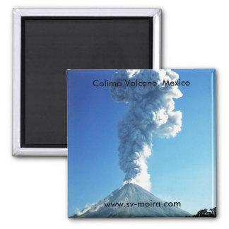 Colima Volcano, Jalisco, Mexico Magnet