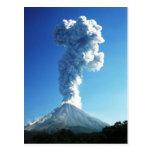 Colima Volcano, Jalisco, Mexico Post Card