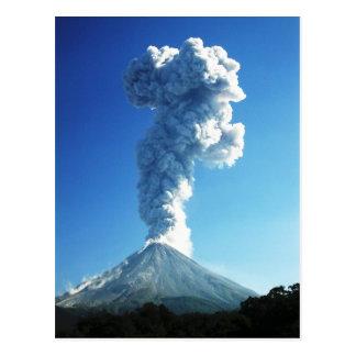 Colima Volcano, Jalisco, Mexico Postcard