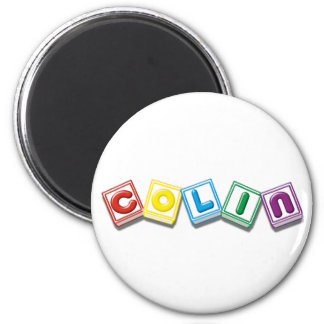 Colin 2 Inch Round Magnet