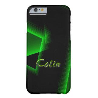 Colin Black & Green iPhone case
