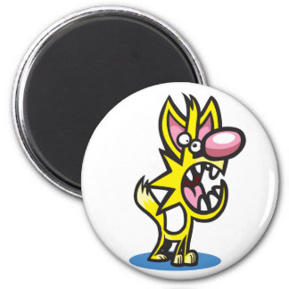 Colin Cat 2 Inch Round Magnet