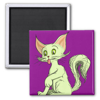 Colin Cat 2 Inch Square Magnet