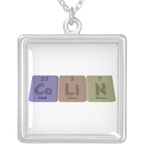 Colin como nitrógeno del litio del cobalto colgantes