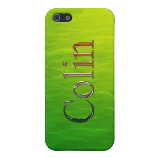 COLIN Name Branded iPhone Cover