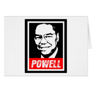 COLIN POWELL 2012 GREETING CARD