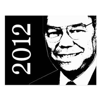 Colin Powell 2012 Postcard