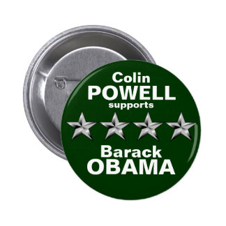 Colin Powell Pinback Button