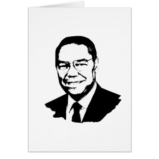 Colin Powell.png Greeting Card